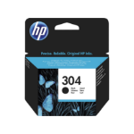 HP 304 Black Original Standard Capacity Negro