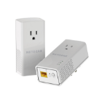 Netgear PLP1200-100PAS 1200Mbit/s Ethernet LAN White 2pc(s) PowerLine network adapter