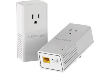 Netgear PLP1200-100PAS 1200Mbit/s Ethernet LAN White 2pcs PowerLine network adapter
