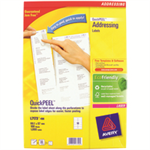 Avery L7173-100 White Self-adhesive label addressing label