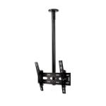 "B-Tech BT8424-150/C flat panel ceiling mount 165.1 cm (65"") Black"