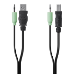 "Belkin F1D9022B06T KVM cable Black 71.7"" (1.82 m)"