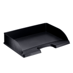 Esselte 52180095 Plastic Black desk tray