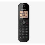 Panasonic KX-TGC413EB telephone DECT telephone Caller ID Black