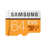 Samsung EVO memory card 64 GB MicroSDXC Class 10 UHS-I MB-MP64HA/EU