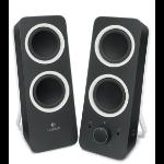 Logitech Z200 Stereo Speakers 2-way Black Wired 10 W