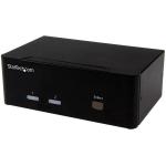 StarTech.com 2-poorts KVM switch met dubbele VGA 2 poorts USB 2.0 hub