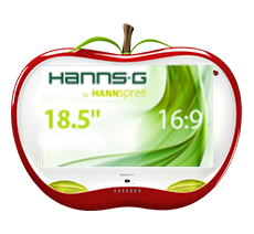 Hannspree HA 195 HPR LED display 47 cm (18.5