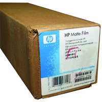 HP Matte Film 610 mm x 38.1 m (24 in x 125 ft) printing film
