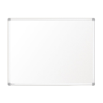 Nobo Prestige Enamel Magnetic Whiteboard 900x600mm with Aluminium Trim