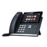 Yealink T48S-Skype for Business Edition IP phone Black Wired handset