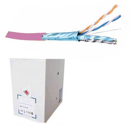 FDL CAT.6A S-FTP SOLID INSTALLATION CABLE (305M BOX)
