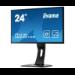 "iiyama ProLite XB2481HS-B1 23.6"" Black Full HD LED display"