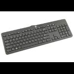 HP 803181-091 USB Norwegian Black keyboard