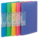 Pentel DCF343/MIX folder Blue,Green,Pink,Purple,Yellow A4