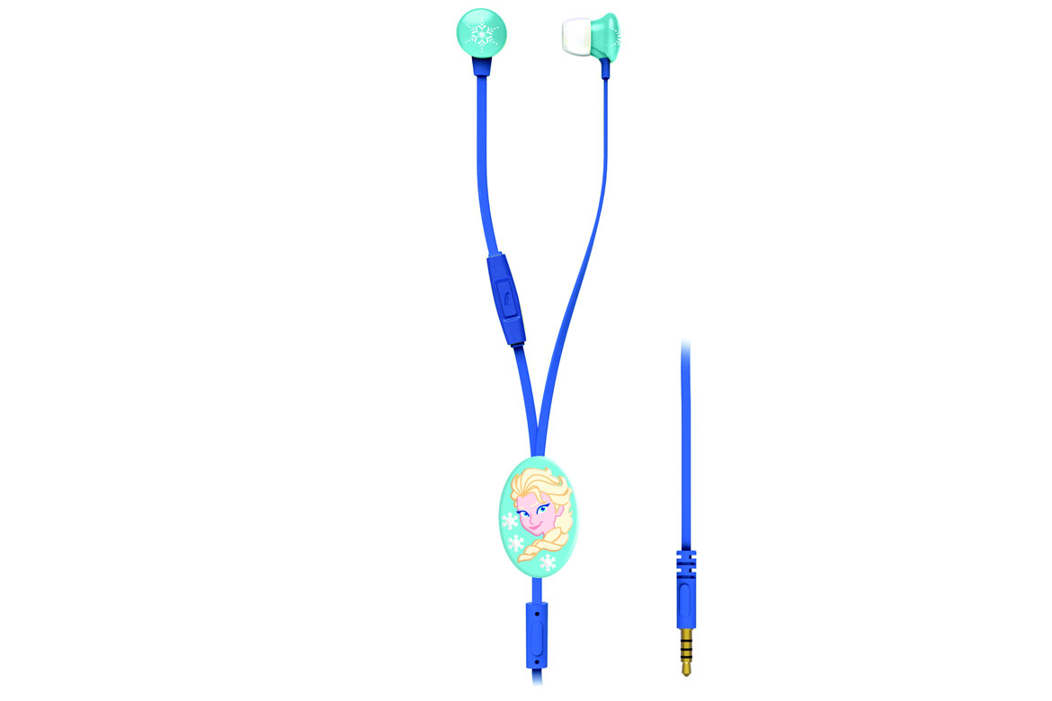 Lexibook Disney Frozen Stereo Headphones with 3D Cable Holder