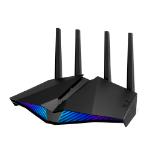 ASUS RT-AX82U wireless router Dual-band (2.4 GHz / 5 GHz) Gigabit Ethernet Black