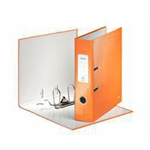 Leitz 180  WOW Cardboard Orange ring binder