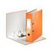 Leitz 180° WOW Cardboard Orange ring binder