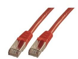 MCL FCC6ABM-5M/R cable de red Rojo