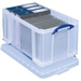 REALUSE REALLY USEFUL 48 LITRE BOX CLEAR 48C