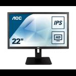 "AOC Pro-line I2275PWQU LED display 54,6 cm (21.5"") 1920 x 1080 Pixeles Full HD Plana Mate Negro"