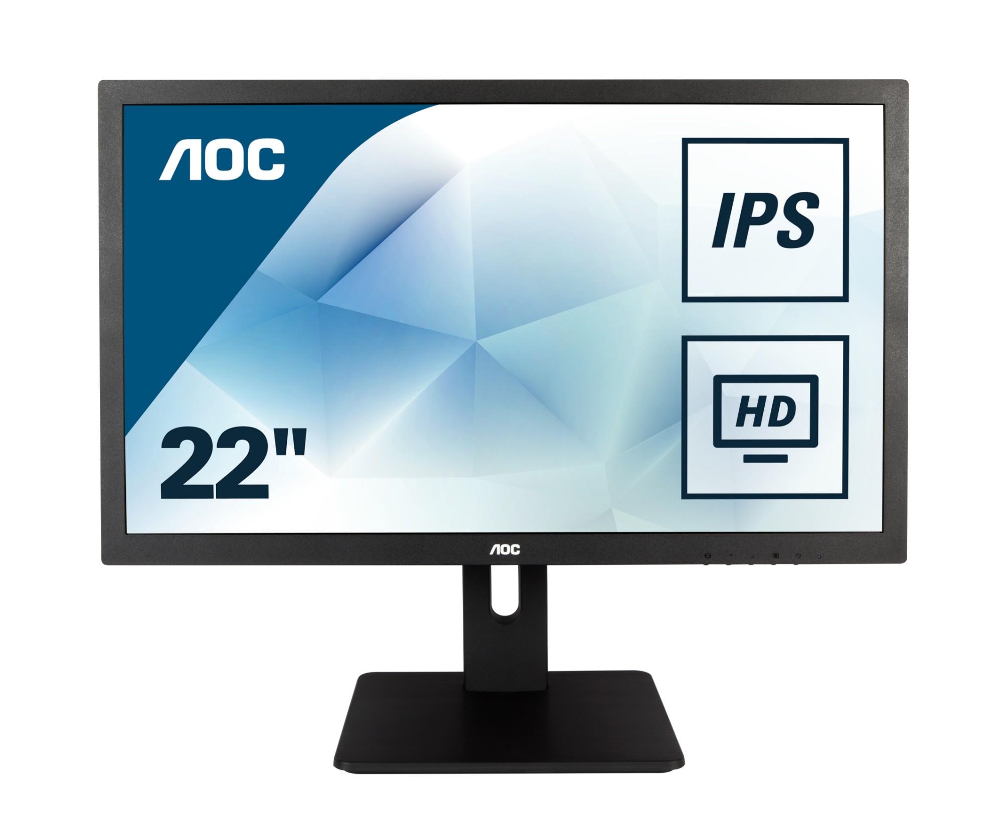 """AOC Pro-line I2275PWQU LED display 54,6 cm (21.5"""") Full HD Plana Mate Negro"""