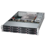 Supermicro SC826BE1C4-R1K23LPB Rack Black 1200 W