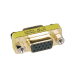 Tripp Lite Compact / Slimline VGA Video Coupler Gender Changer (HD15 F/F)