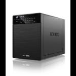 "ICY BOX IB-RD3640SU3 3.5"" Black"