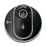 AT&T TL80133 Telephone Black, Silver speakerphone