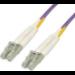MCL LC/LC, 3m cable de fibra optica Violeta