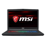 "MSI Gaming GF72 8RD-031UK Black Notebook 43.9 cm (17.3"") 1920 x 1080 pixels 8th gen Intel® Core™ i5 i5-8300H 8 GB DDR4-SDRAM 256 GB SSD"