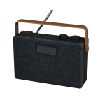 Clint F7 Portable Analog & Digital Black, Copper radio