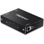 Trendnet TPE-E100 bridge & repeater 800 Mbit/s Black