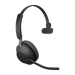 Jabra Evolve2 65, UC Mono Headset Head-band USB Type-A Bluetooth Black