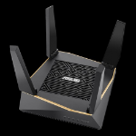 ASUS RT-AX92U wireless router Gigabit Ethernet Tri-band (2.4 GHz / 5 GHz / 5 GHz) Black