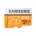 Samsung EVO memory card 256 GB MicroSDXC UHS-I Class 10