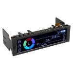 Lamptron CE420 fan speed controller 4 channels Black LCD