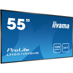 "iiyama LH5510HSHB-B1 signage display 139.7 cm (55"") LED Full HD Digital signage flat panel Black"