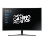 "Samsung C32HG70QQU 31.5"" Quad HD LED Curved Blue, Grey computer monitor"