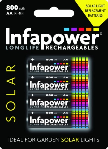 Infapower AA 800mAh Rechargeable battery Nickel-Metal Hydride (NiMH)