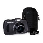 Praktica WP240 Waterproof Camera Kit inc 32GB MicroSD Card and Case - Graphite