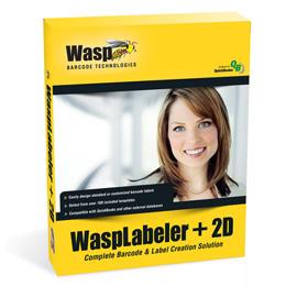 Wasplabeler +2d - 1 User Barcode Design Software In Box