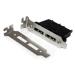StarTech.com 2 Port Low Profile SATA to eSATA Plate Adapter - F/M