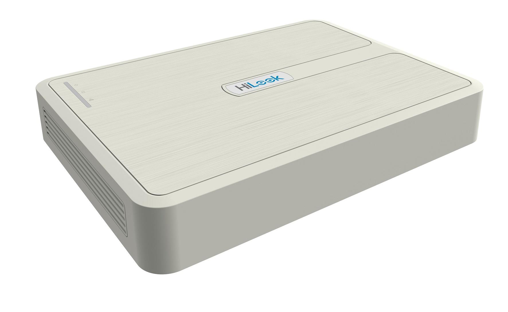 HiLook NVR-108H-D/8P network video recorder 1U White