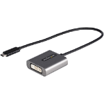 StarTech.com CDP2DVIEC USB graphics adapter 1920 x 1200 pixels Black, Silver