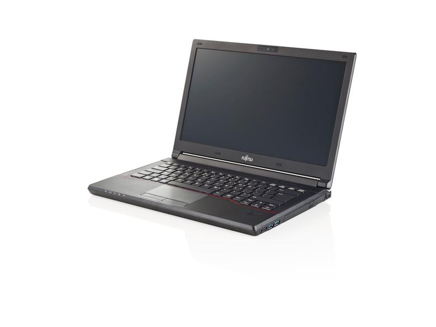 """Fujitsu LIFEBOOK E547 2.40GHz i3-7100U 14"""" 1366 x 768pixels Black Notebook"""