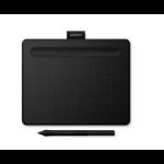 Wacom Intuos S Bluetooth graphic tablet Black 2540 lpi 152 x 95 mm USB/Bluetooth