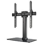 "Hama 00108789 55"" Freestanding Black flat panel desk mount"